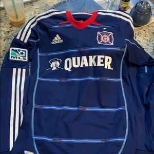 Worn once Chicago fire jersey